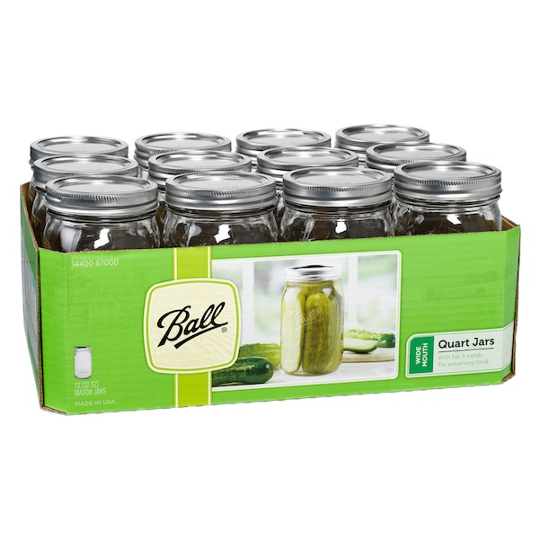 Ball Widemth Canning Jar (1x12 CT)