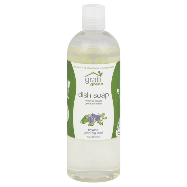 Grab Green Liquid Dsh Sp Thyme/Fig (6x16OZ )