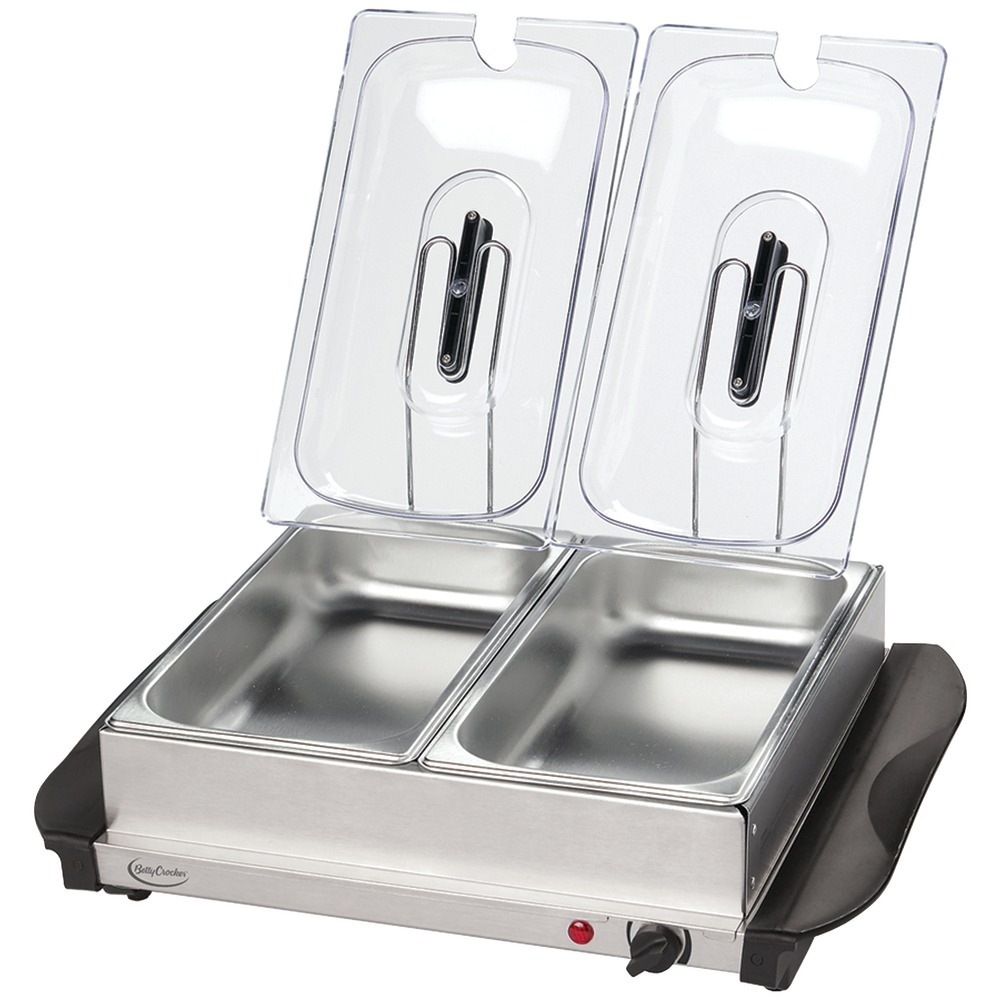 Betty Crocker Stainless Steel Buffet Server With Warming Tray