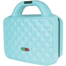 Brentwood Appliances Couture Purse Nonstick Dual Waffle Maker (blue)