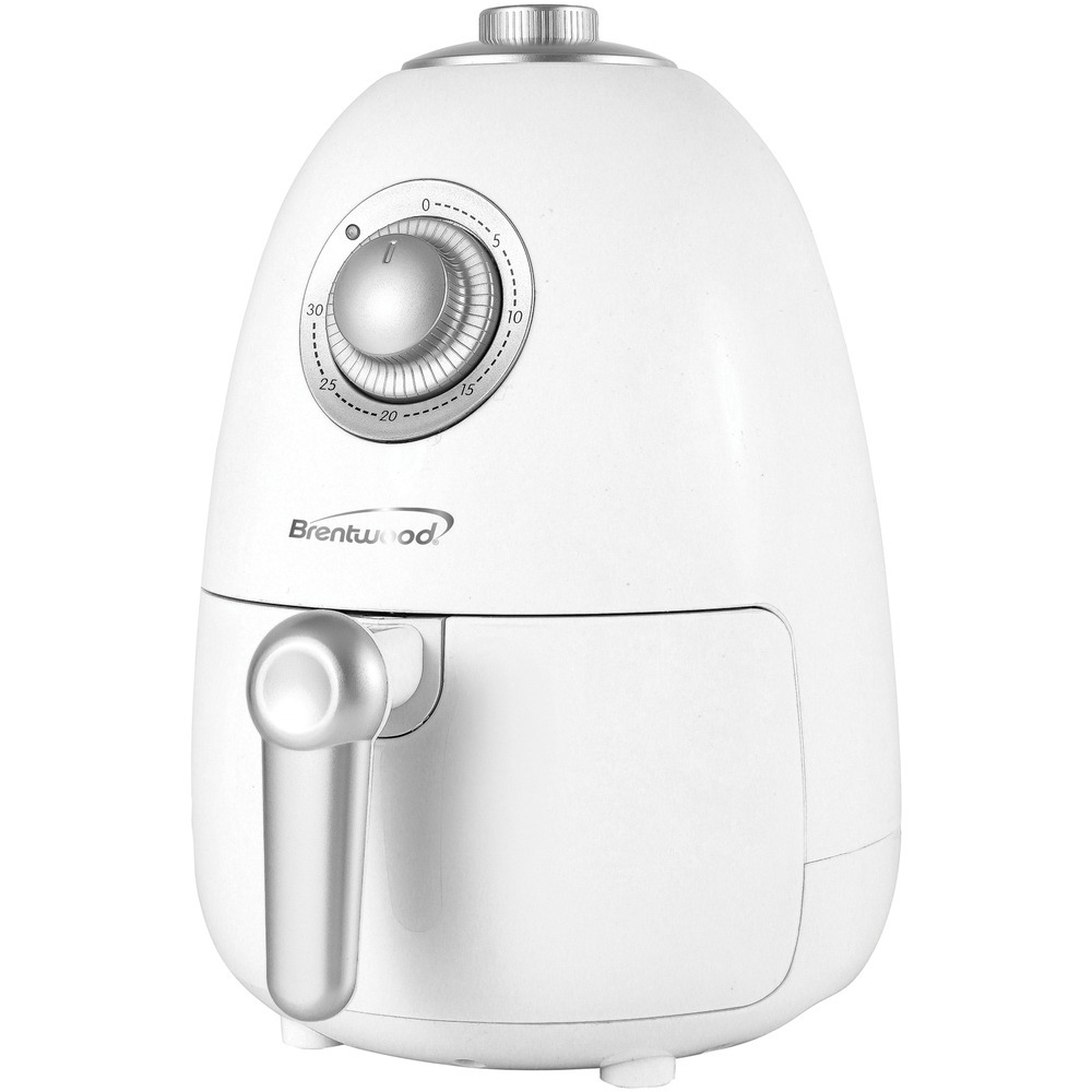 Brentwood Appliances 2-quart Small Electric Air Fryer With Timer And Temperature Control (white)