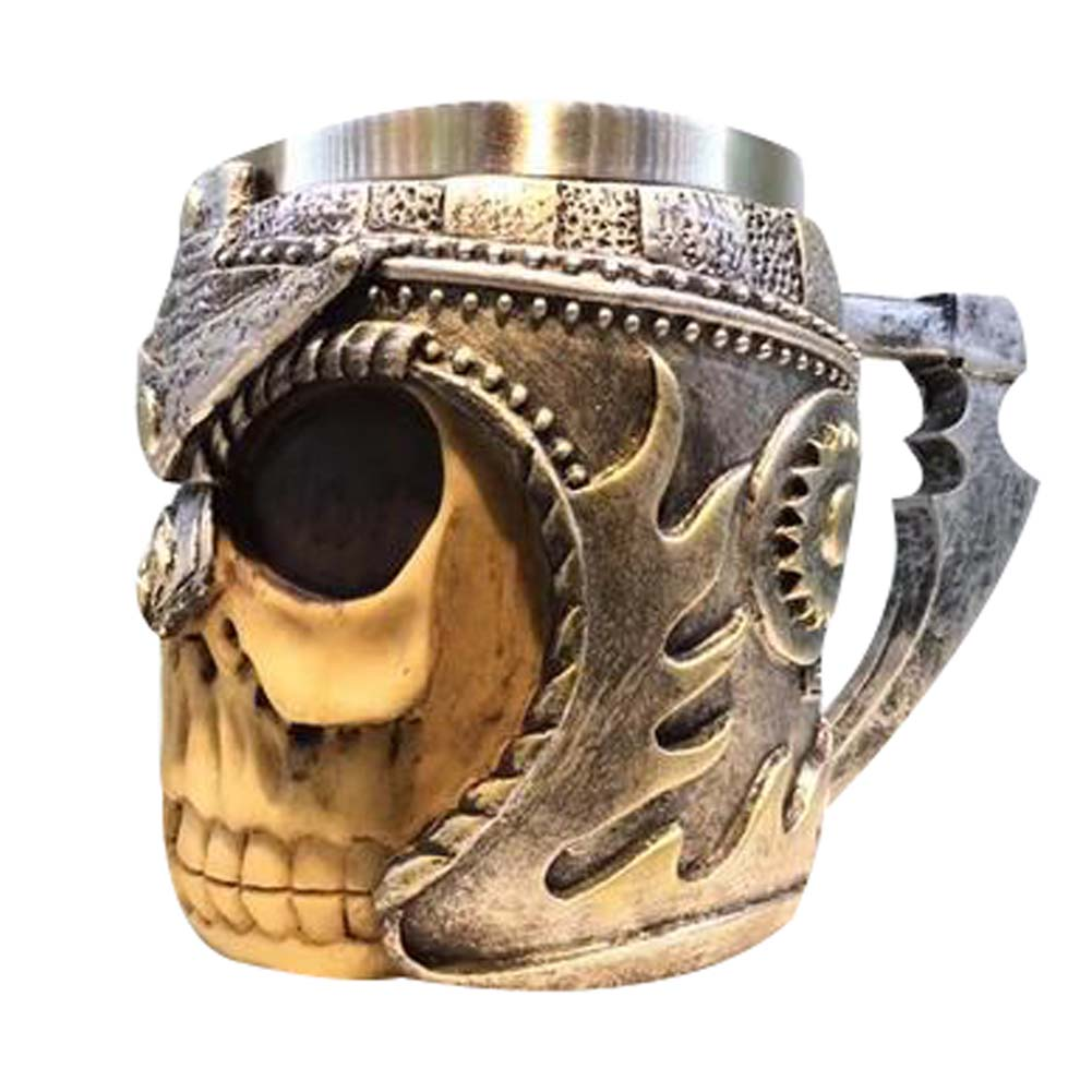 Skull Skeleton Coffee Mug Cup 3D Gothic Ossuary Style Tea Mug Great Collection