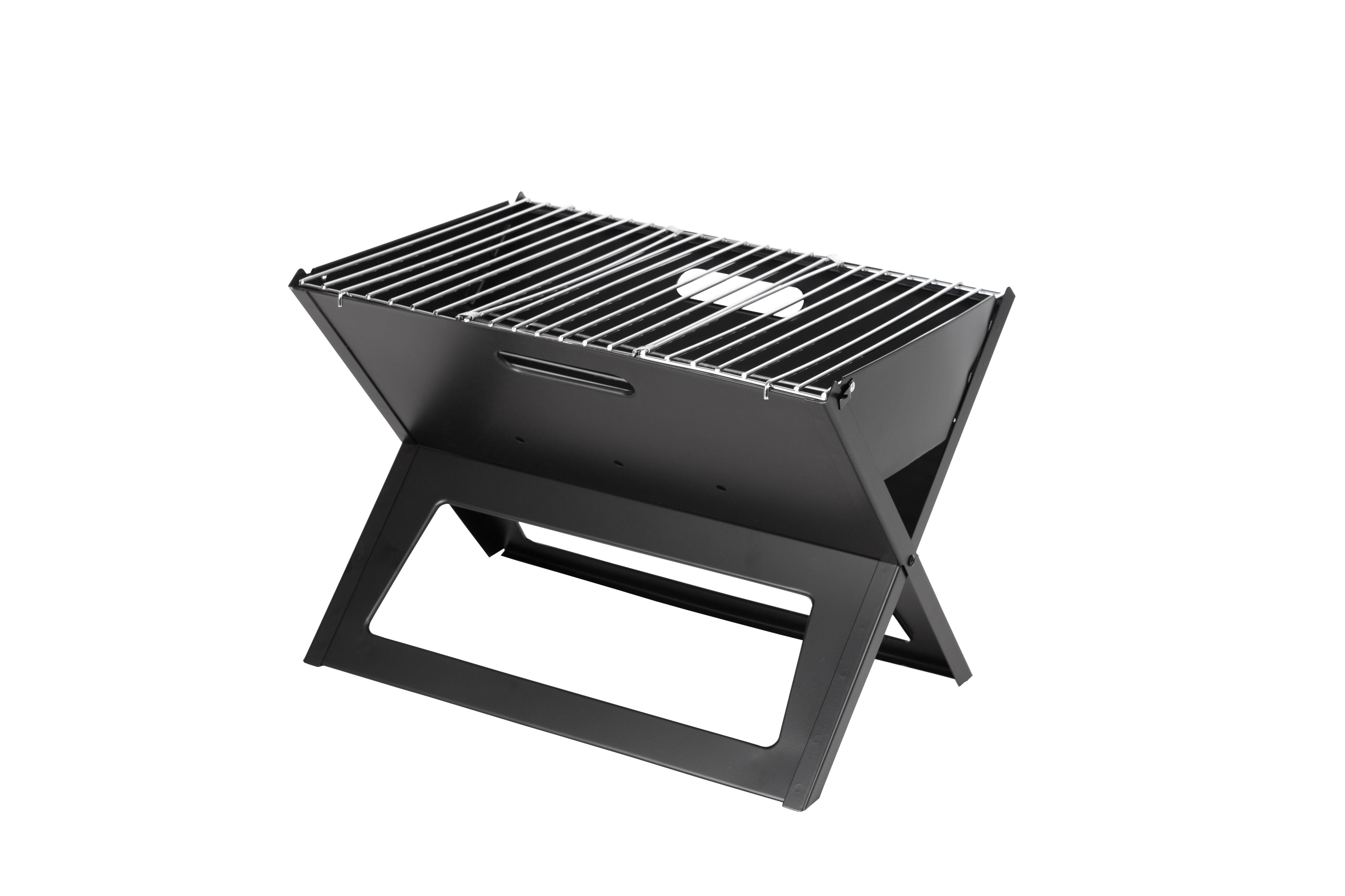 11.82 in L x 17.53 in W x 14.18 in H HotSpot Notebook Charcoal BBQ Grill